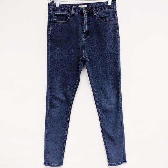 Forever 21 Denim - forever 21 | high rise skinny denim jeans sz 28